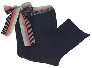 Maizy Cummings Capris Navy Blue