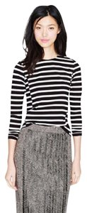 J.Crew T Shirt black and ivory