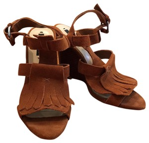 Zara Brown suede Sandals