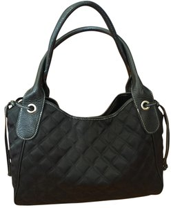 Talbots Nylon Satchel in Black