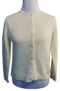 Northern Isles Petite Solid Cardigan Button Front Classic Sweater