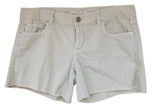 American Eagle Outfitters Cut Off Shorts khaki