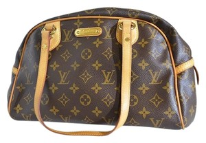 Louis Vuitton Montoguell Monogram Shoulder Bag
