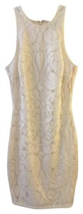 Alexia Admor White White White Sparkle Dress