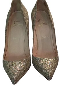 Christian Louboutin Glitter Multi Pumps