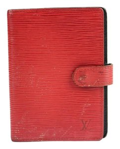 Louis Vuitton Red Epi Agenda 25LVA909