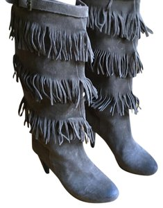Other Grey swede Boots