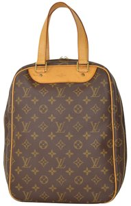 Louis Vuitton Monogram Excursion Travel Satchel Tote in Brown