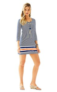 Lilly Pulitzer short dress Navy Stripe on Tradesy