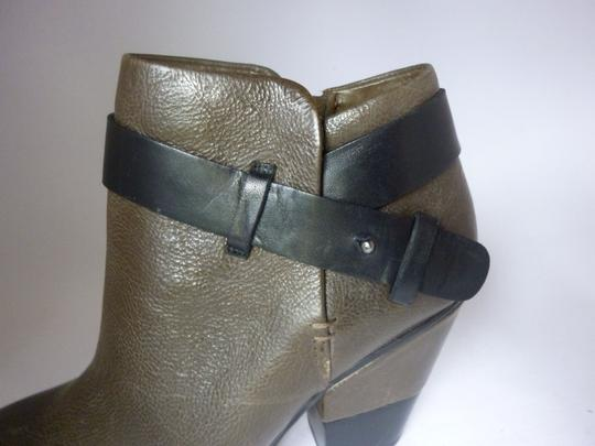 Dolce Vita Leather Olive Leather Boots