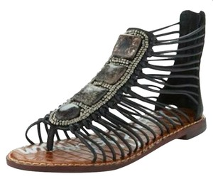 Sam Edelman Hazel Strappy Black Sandals
