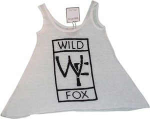 Wildfox Top Off White