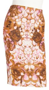 Alexander McQueen Skirt Pink & Brown