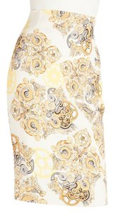 Versace Skirt Cream & Yellow