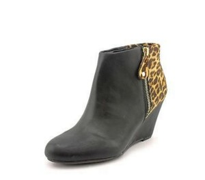 REPORT Gabrela Bootie Boot Wedge Black Boots