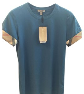 Burberry T Shirt Lupin Blue