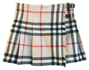 Burberry Mini Skirt Nova Check