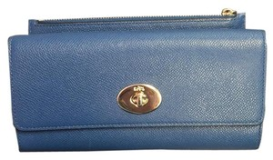 Coach Coach Embossed Textured Slim Envelope Wallet with Pop-Up Pouch 52345