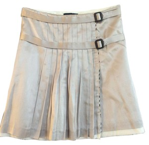 Burberry Mini Skirt Taupe