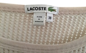 Lacoste Pink Top
