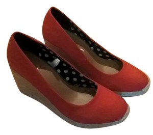 Merona Wedge RED Wedges