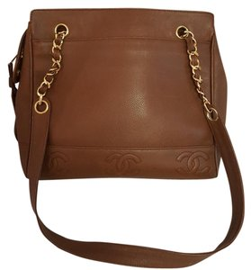 Chanel Tote in Brown Camel