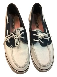 Sperry Navy Sailing White Athletic