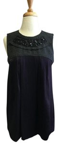 Vera Wang Lavender Label Top Purple/Charcoal