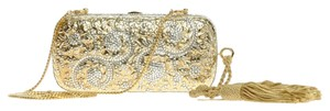 Judith Leiber Godl and Silver Clutch