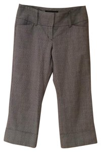 Express Capris Grey plaid