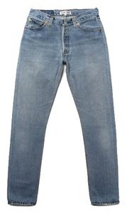 RE/DONE Shop Vintage Levi Straight Leg Jeans-Medium Wash