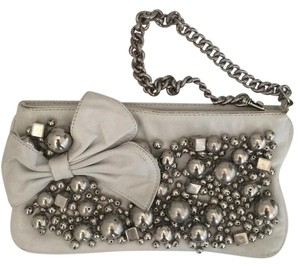 Betsey Johnson Wristlet in White