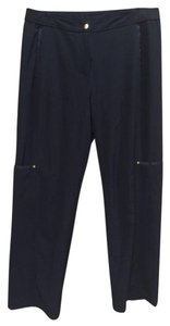 Chico's Stretch Comfortable Cargo Pants Black