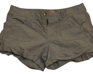 Dollhouse Cuffed Shorts Gray/blue