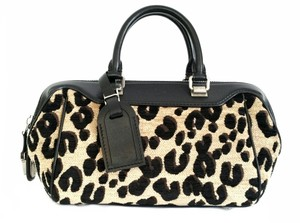 Louis Vuitton Stephen Sprouse Limited Edition 2012 Satchel in Leopard print