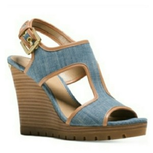 Michael Kors Blue Sandals