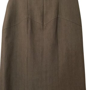 Nicole Miller Skirt Brown