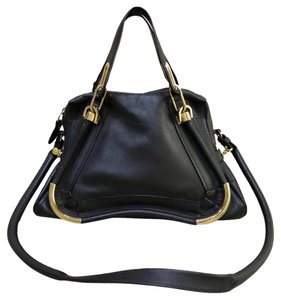 Chloé Chloe Shoulder Calfskin Satchel in black