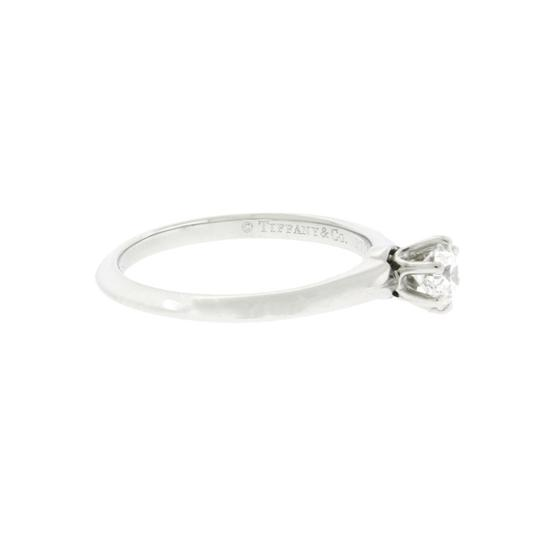 Tiffany & Co. Tiffany .39 carat IF-F solitaire engagement ring in platinum size 5.5