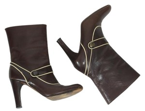 Marni Fall Ankle Ankle Fall Avant Garde Brown Boots