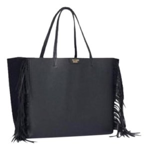 Victoria's Secret Fringe New With Tags Black Travel Bag