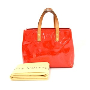 Louis Vuitton Patent Tote in Red