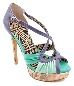 Jessica Simpson Blue Green Sandals