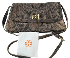 Tory Burch Python Leather Cross Body Bag