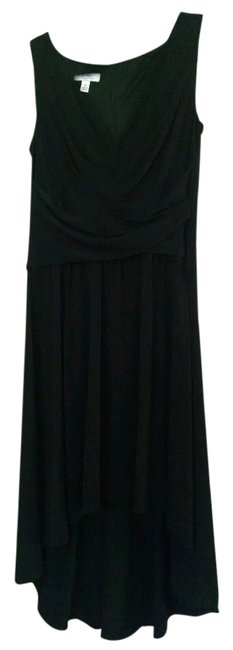 low-cost ivy + blu Pleated Front V-neck Dress