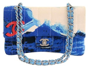 Chanel Limited Edition Cc Silver Chain Shoulder Bag