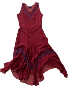 Trashy Diva Flapper Vintage '20s Evening Costume Beaded Dress