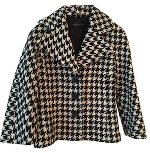 Dana Buchman Houndstooth Short Coat