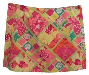 Lilly Pulitzer Skirt Pink/Multi Colored
