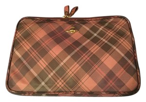 Vivienne Westwood Leather Laptop Bag